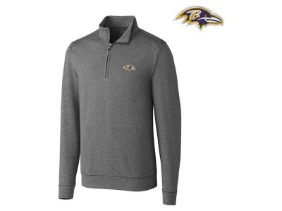 Baltimore Ravens Cutter & Buck NFL Men's Shoreline 1/4 Zip Pullover
