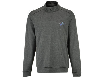 Detroit Lions Cutter & Buck NFL Men's Shoreline 1/4 Zip Pullover