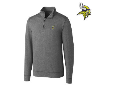 Minnesota Vikings Cutter & Buck NFL Men's Shoreline 1/4 Zip Pullover