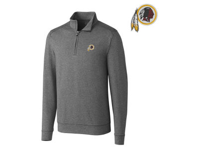 Washington Redskins Cutter & Buck NFL Men's Shoreline 1/4 Zip Pullover