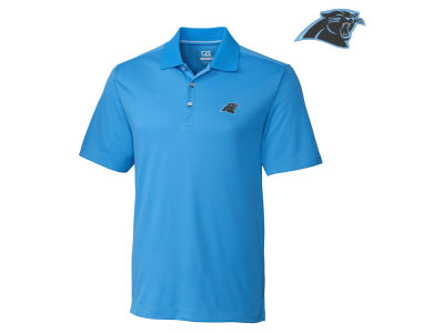 Carolina Panthers Cutter & Buck NFL Men's DryTec Glendale Polo Shirt