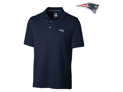 New England Patriots Cutter & Buck NFL Men's DryTec Glendale Polo Shirt
