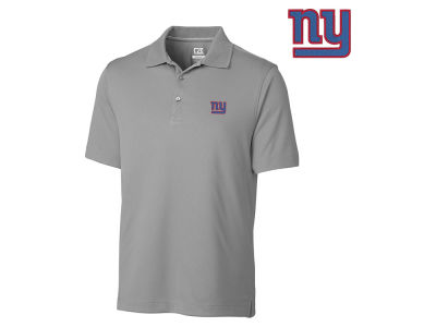 New York Giants Cutter & Buck NFL Men's DryTec Glendale Polo Shirt