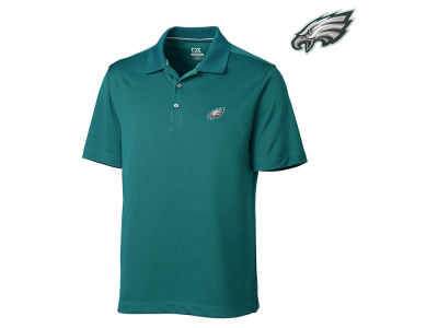 Philadelphia Eagles Cutter & Buck NFL Men's DryTec Glendale Polo Shirt