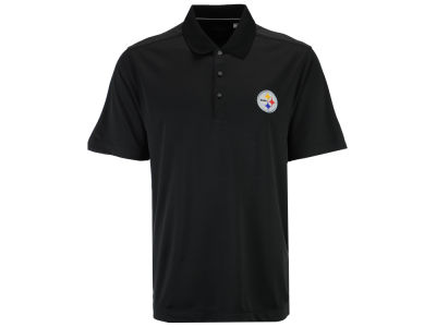 Pittsburgh Steelers Cutter & Buck NFL Men's DryTec Glendale Polo Shirt