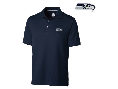 Seattle Seahawks Cutter & Buck NFL Men's DryTec Glendale Polo Shirt