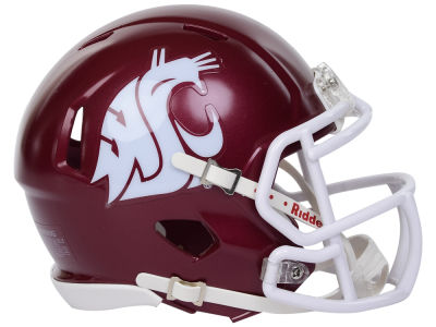 Washington State Cougars Riddell Speed Mini Helmet