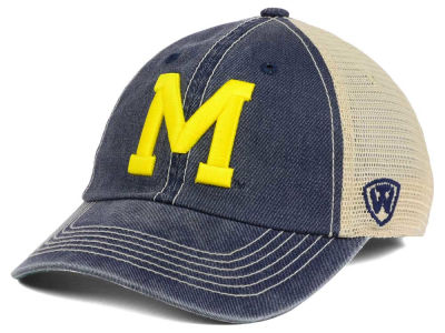 b43a139f2eb Michigan Wolverines Top of the World NCAA Wickler Mesh Cap