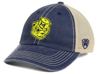 Michigan Wolverines Top of the World NCAA Wickler Mesh Cap