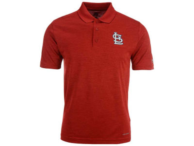 St. Louis Cardinals Majestic MLB Men's First Hit Polo