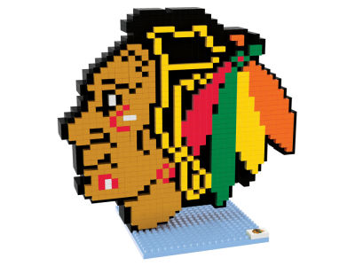 Chicago Blackhawks BRXLZ 3D Logo Puzzle