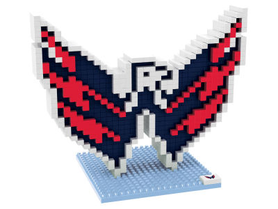 Washington Capitals BRXLZ 3D Logo Puzzle