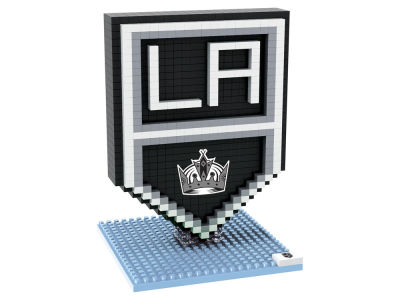 Los Angeles Kings BRXLZ 3D Logo Puzzle