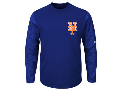 New York Mets Majestic MLB Men's AC On-Field Tech Fleece