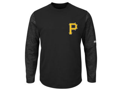 Pittsburgh Pirates Majestic MLB Men's AC On-Field Tech Fleece