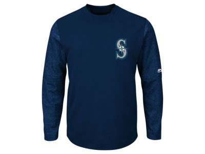 Seattle Mariners Majestic MLB Men's AC On-Field Tech Fleece