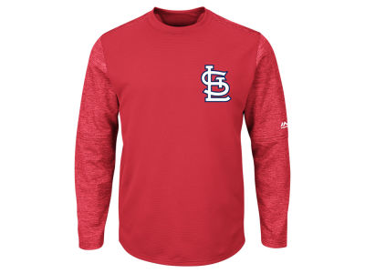 St. Louis Cardinals Majestic MLB Men's AC On-Field Tech Fleece