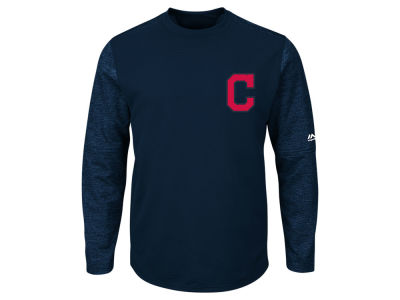 Cleveland Indians Majestic MLB Men's AC On-Field Tech Fleece