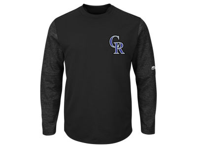 Colorado Rockies Majestic MLB Men's AC On-Field Tech Fleece