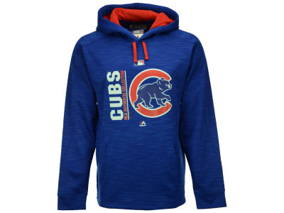 Chicago Cubs Majestic MLB Men's On-Field Icon Hoodie