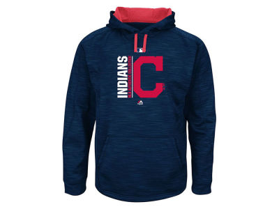 Cleveland Indians Majestic MLB Men's On-Field Icon Hoodie