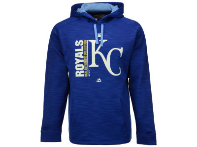 Kansas City Royals Majestic MLB Men's On-Field Icon Hoodie