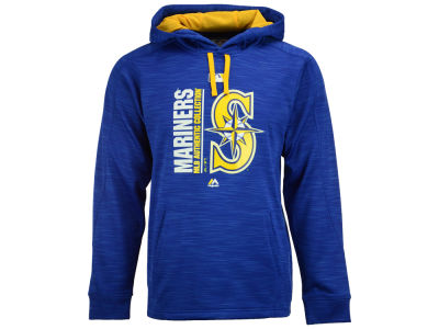 Seattle Mariners Majestic MLB Men's On-Field Icon Hoodie