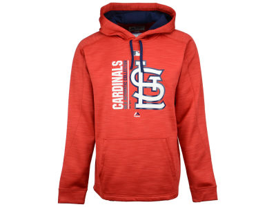 St. Louis Cardinals Majestic MLB Men's On-Field Icon Hoodie