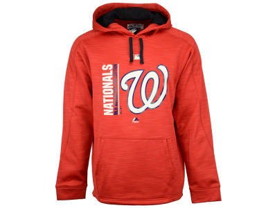 Washington Nationals Majestic MLB Men's On-Field Icon Hoodie