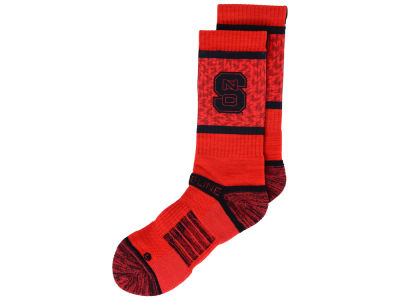 North Carolina State Wolfpack Strideline NCAA Strideline Crew Socks