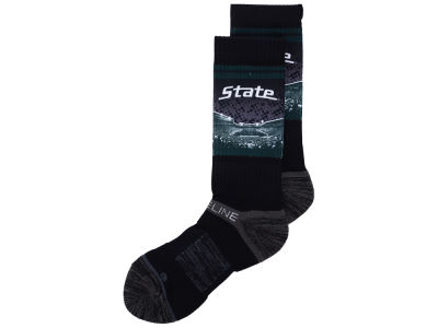 Michigan State Spartans Strideline Strideline Campus Stadium Socks