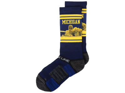 Michigan Wolverines Strideline Strideline Campus Stadium Socks
