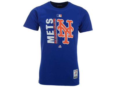New York Mets Majestic MLB Men's AC Icon T-Shirt