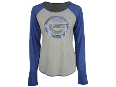 Chicago Cubs Touch by Alyssa Milano MLB Women's Line Drive Long Sleeve T-Shirt