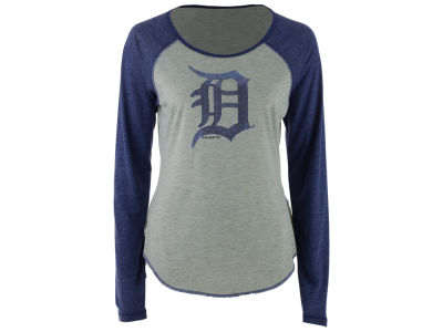 Detroit Tigers Touch by Alyssa Milano MLB Women's Line Drive Long Sleeve T-Shirt