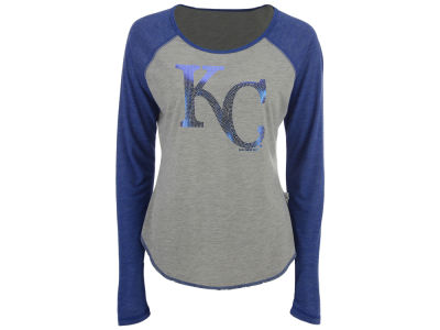 Kansas City Royals Touch by Alyssa Milano MLB Women's Line Drive Long Sleeve T-Shirt