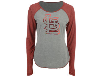 St. Louis Cardinals Touch by Alyssa Milano MLB Women's Line Drive Long Sleeve T-Shirt