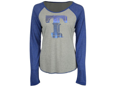 Texas Rangers Touch by Alyssa Milano MLB Women's Line Drive Long Sleeve T-Shirt