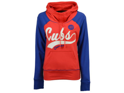 Chicago Cubs G-III Sports MLB Women's Charge The Mound Hooded Sweatshirt