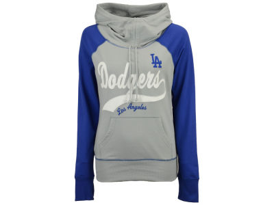 Los Angeles Dodgers G-III Sports MLB Women's Charge The Mound Hooded Sweatshirt