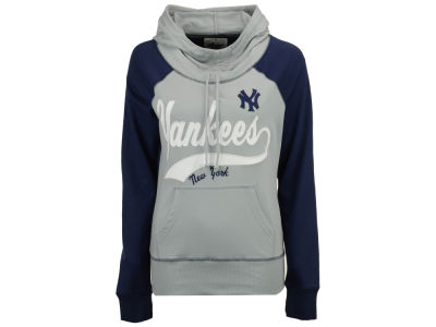 New York Yankees G-III Sports MLB Women's Charge The Mound Hooded Sweatshirt