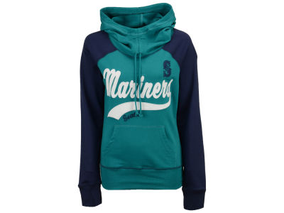 Seattle Mariners G-III Sports MLB Women's Charge The Mound Hooded Sweatshirt