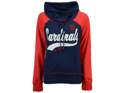 St. Louis Cardinals G-III Sports MLB Women's Charge The Mound Hooded Sweatshirt