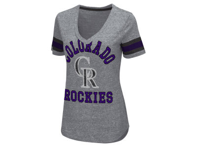 Colorado Rockies GIII MLB Women's Triple Play T-Shirt