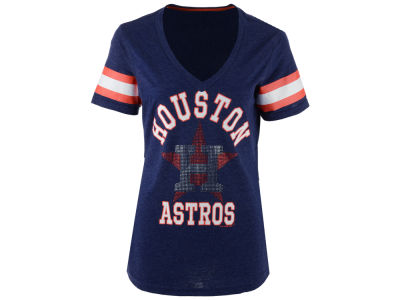 Houston Astros GIII MLB Women's Triple Play T-Shirt