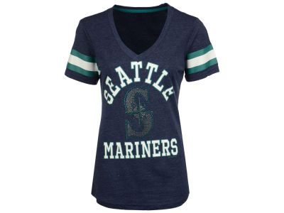 Seattle Mariners G-III Sports MLB Women's Triple Play T-Shirt