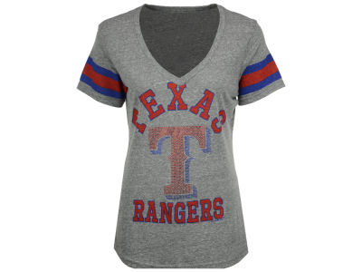 Texas Rangers G-III Sports MLB Women's Triple Play T-Shirt