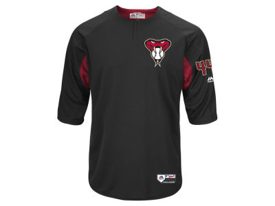 Arizona Diamondbacks Majestic MLB Men's On-Field BP Trainer Jersey