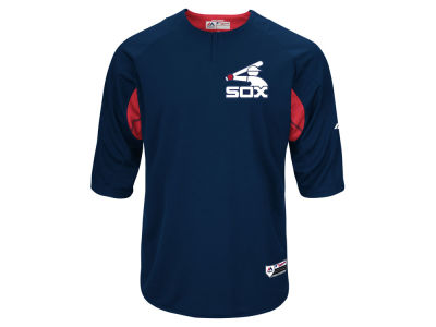 Chicago White Sox Majestic MLB Men's On-Field BP Trainer Jersey