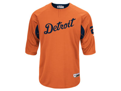 Detroit Tigers Miguel Cabrera Majestic MLB Men's On-Field BP Trainer Jersey